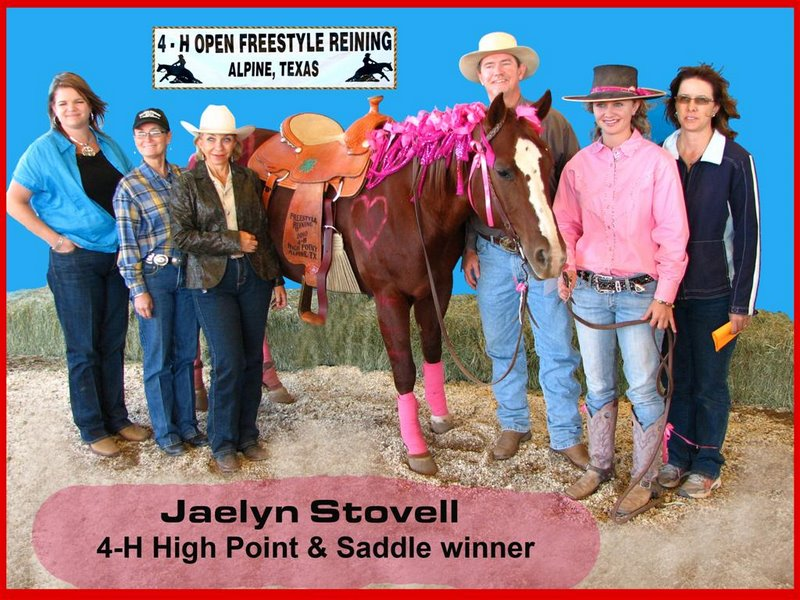 Jaelyn Stovell saddle winner (Large)
