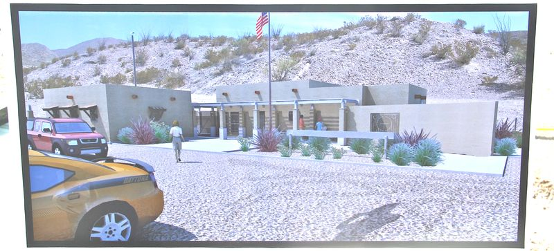 New visitors center and port of entry