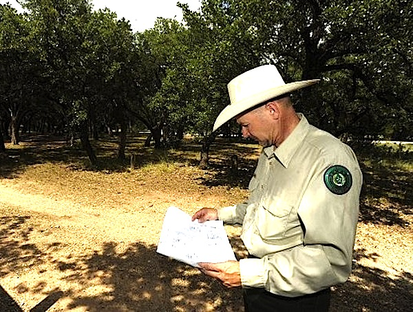 Sul Ross grad now Abilene park chief