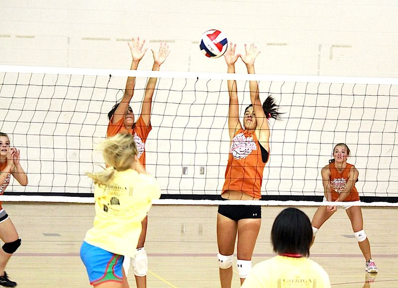 Alpine summer vball Texas Orange No3