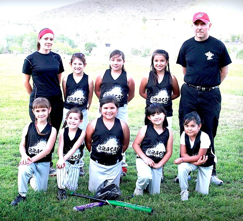 Dennis Baca TP-season's softball-T-Ball KVLF Hits