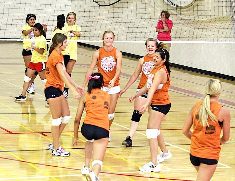 Alpine summer vball Texas Orange No1