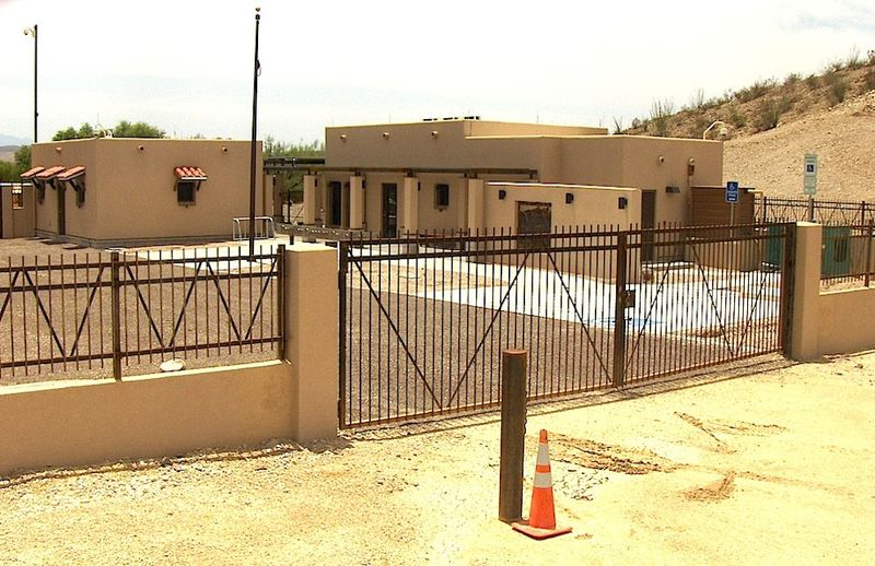 Boquillas port of entry in BBNP