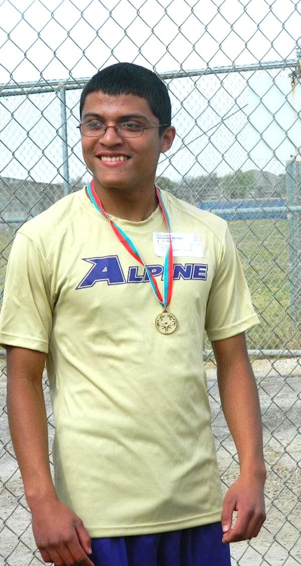 Alpine Special Olympics no7 Sal Hernandez