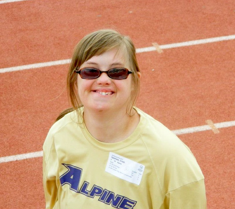 Alpine Special Olympics no4 Cristi Upshaw