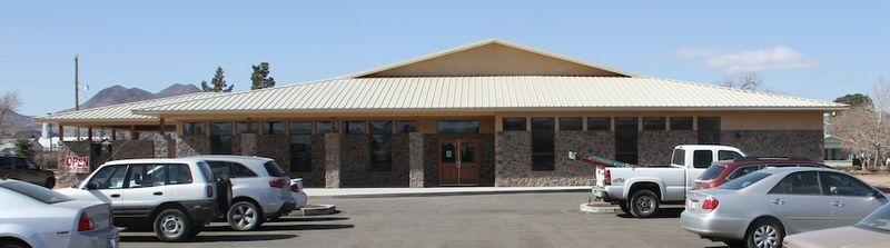 Alpine Public Library exterior no1