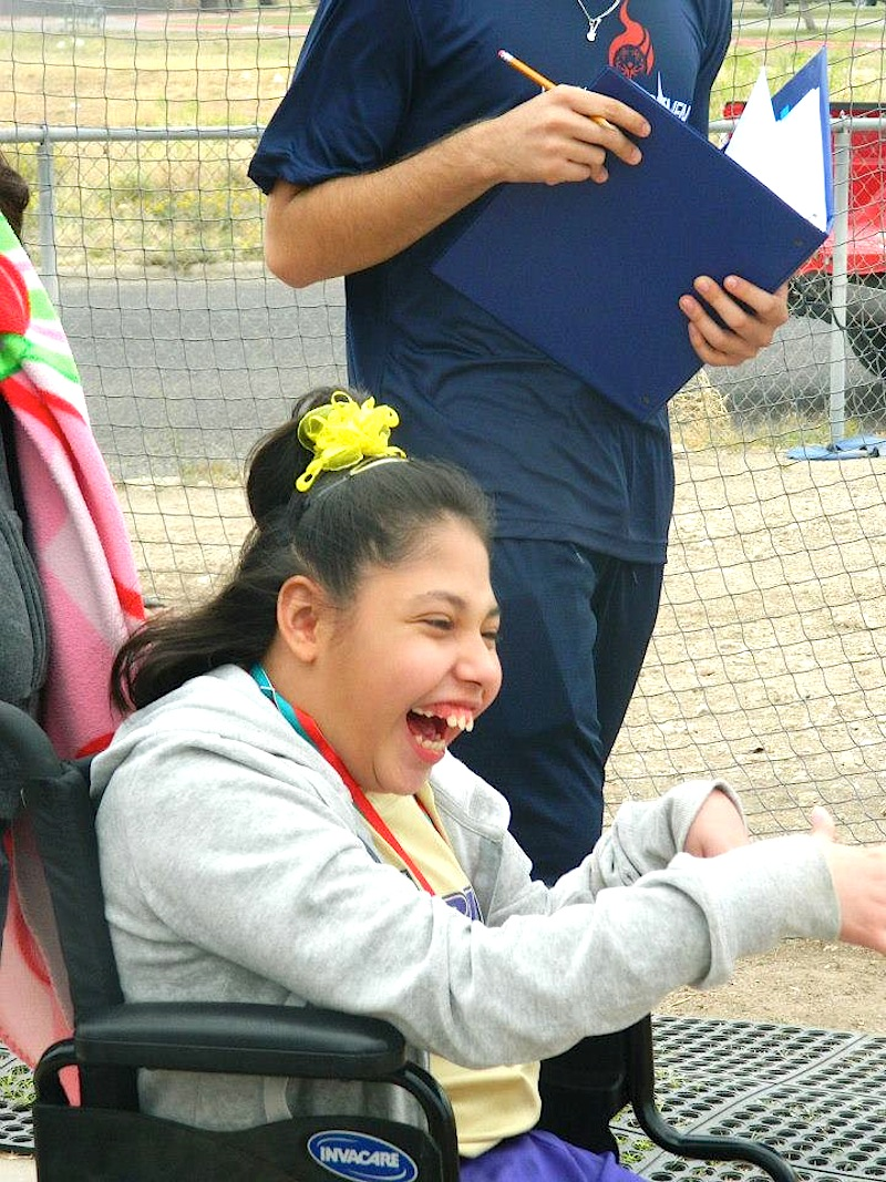 Alpine Special Olympics no6 Dominique Gonzales