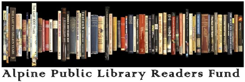 Alpine Public Library Readers Fund