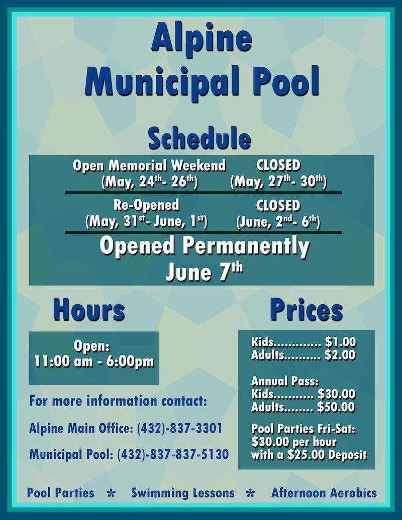 Pool-flyer