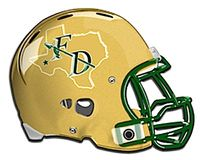 Fort Davis HS football helmet