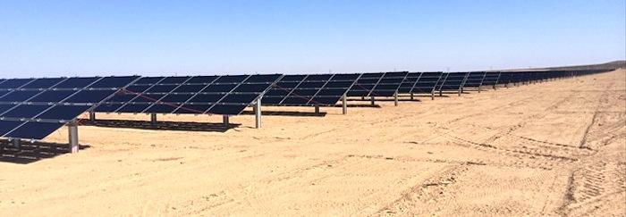 Pecos County solar power