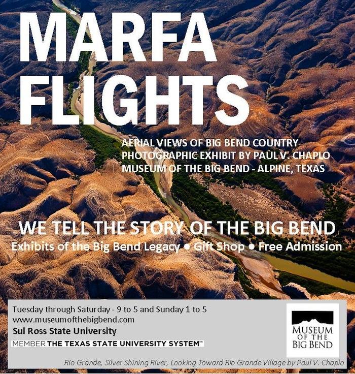 Marfa Flights flyer