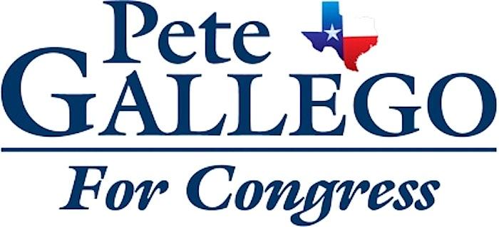 Pete gallego for congress logo