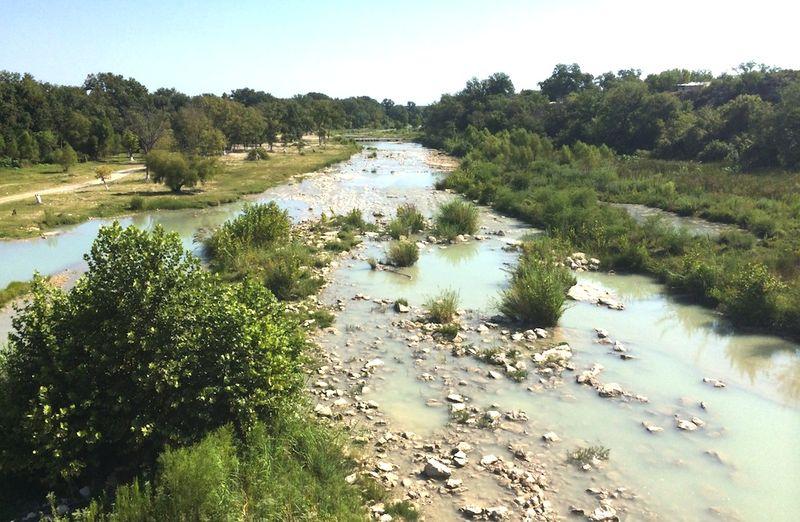 Rio Grande tributary pic by WashPo
