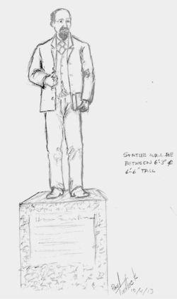 LSR Statue