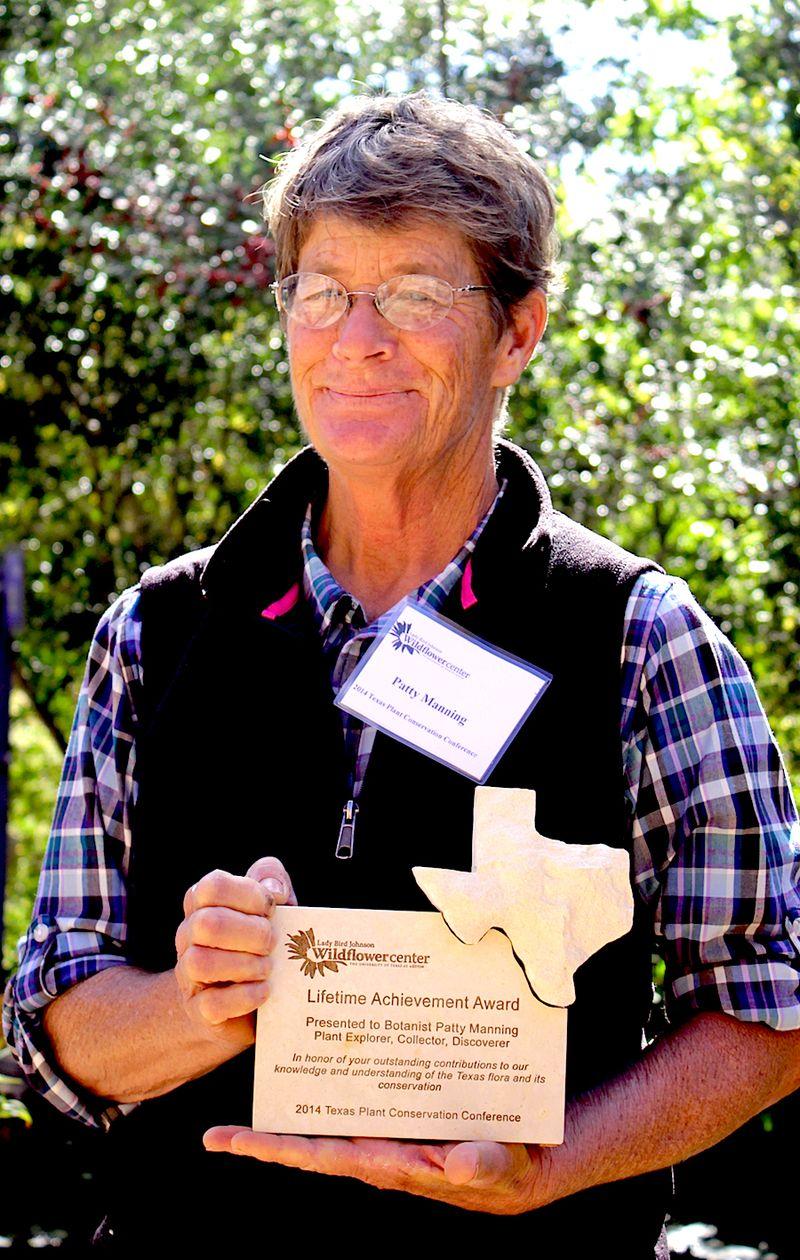 Patty Manning Botanical award