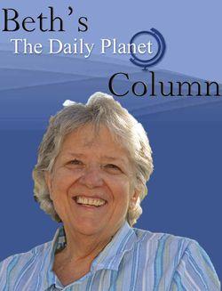 Beths Daily Planet Column logo