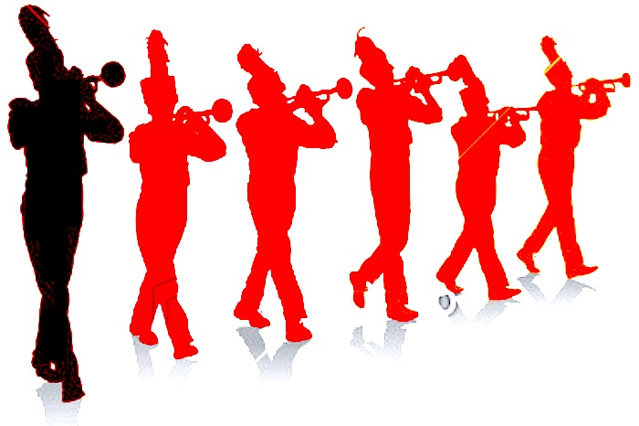 Stock-illustration-11184000-marching-band-trumpet-line