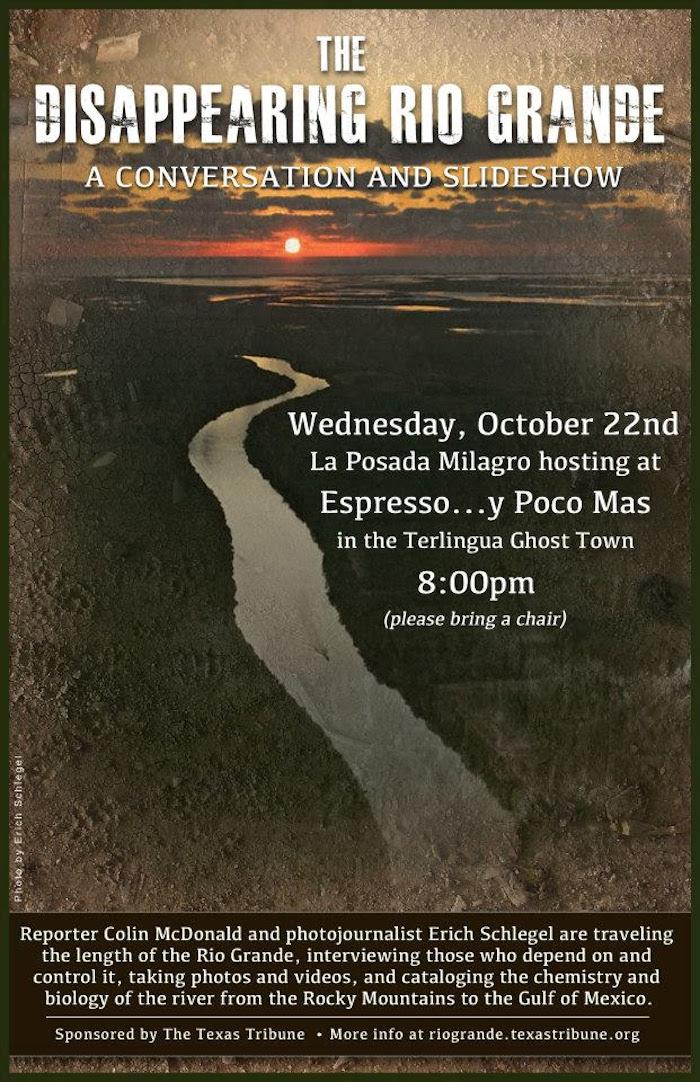 Disappearing Rio Grande