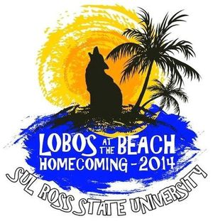 Lobos on the beach homecoming